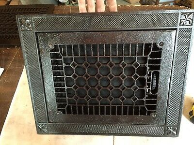Antique Cast-Iron Honeycomb Style Heating Great Tc 92
