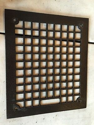 Antique Cast Iron Squares Pattern Heating Gate Tc 103