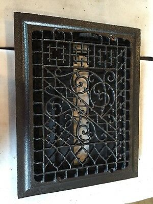 Antique Ornate Cast Iron Heating Great Tc 105 • CAD $95.76