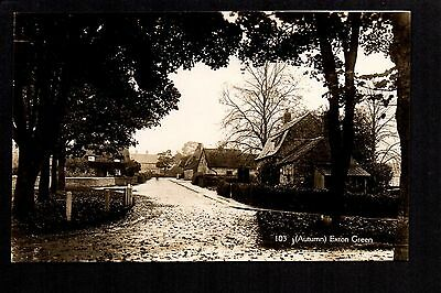 Exton Green - real photographic postcard