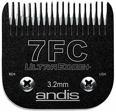 Andis 65815 # 7FC EGT UltraEdge+ Charcoal Detachable Finish Cut Clipper Blade