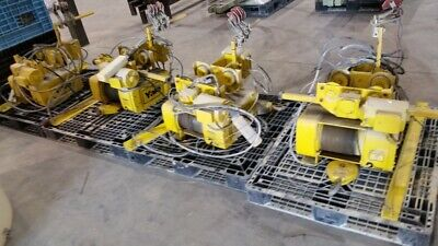 Yale 2 ton hoist with motor driven trolley
