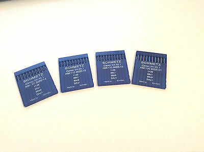 Schmetz Industrial Sewing Machine Needles 88X1 All Sizes X 10 Singer 95K & 195K