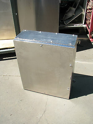 Stainless Steel Cabinet Box Storage Electrical - 500 x 620 x 200