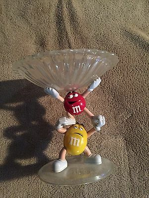 M&m Red And Yellow Candy Dish