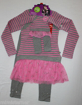"""Dollie and Me Legging Set Girl's For You & Your 18"""" Dolls Pink Gray Multi Sizes"""