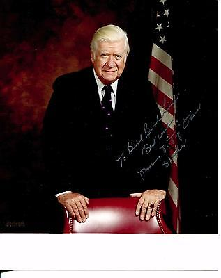 Thomas P Tip O'neill Politician / Speaker Of The House Signed Photo Autograph