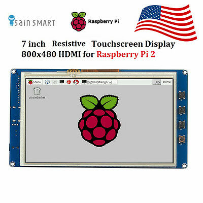 SainSmart 7inch HDMI LCD 800×480 Touch Screen LCD for Raspberry Pi 2 US Ship