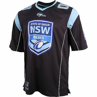 NSW Blues State of Origin 2016 Men's Supporter Gridiron Jersey - sizes M L XL