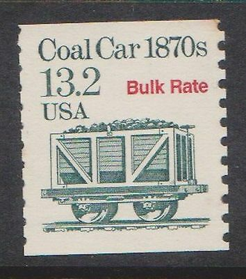 (USR-235) 1984 USA 13.2c coal car bulk rate MNG (B) $1.00
