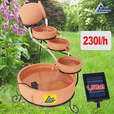 Solar Water Feature Garden Water Feature Solar Powered Pond Pump Kit Fountain