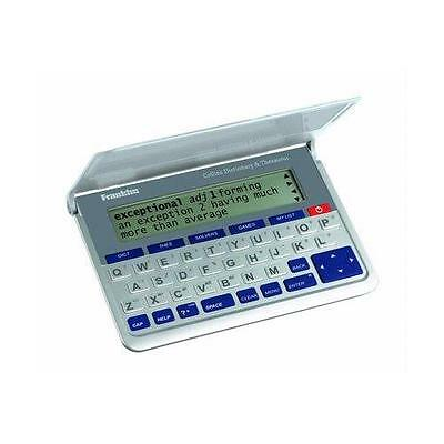 Franklin DMQ570 Collins Electronic Dictionary With Thesaurus And Anagram Solver
