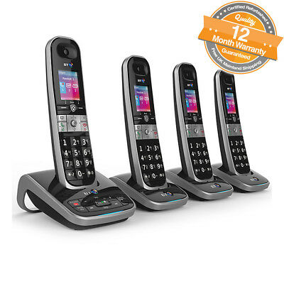 BT 8610 Quad Digital Cordless Phone With Answer Machine & Advanced Call Blocking