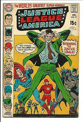 Justice League Of America # 77 (Dec 1969), Vg/fn