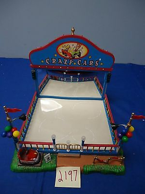 Lemax Village Collection Crazy Cars 64488 As-Is 2193