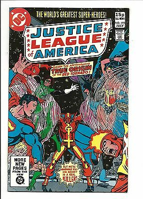 Justice League Of America # 192 (Origin Red Tornado, July 1981), Vf/nm