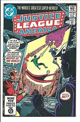 Justice League Of America # 199 (Feb 1982), Nm