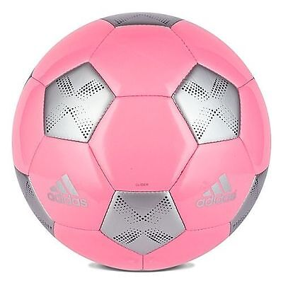 adidas AdiPro11 Glider Soccer Ball 2013 Pink / Silver / Pink Brand New
