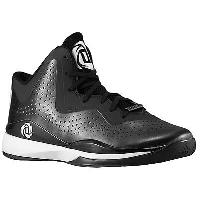 check out a4fd4 3b56b NEW Adidas D Rose 773 III Mens Basketball Shoes BlackWhite - Size 7.5
