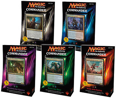 Magic the Gathering Commander 2015 MTG Trading Card Game TCG