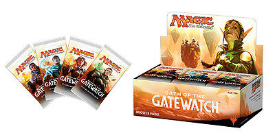 Magic the Gathering Oath of the Gatewatch Booster Packs MTG Trading Card Game TC