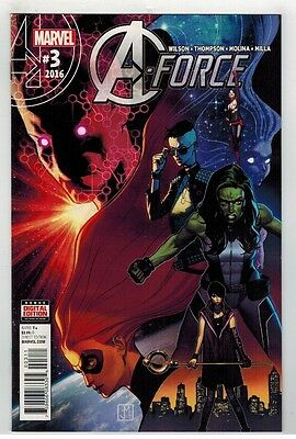 A-Force #3 - Jorge Molina Art & Cover - Marvel Comics - 2016