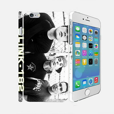 022 Blink-182 - Apple iPhone 4 5 6 Hardshell Back Cover Case