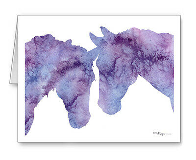 HORSES Note Cards With Envelopes