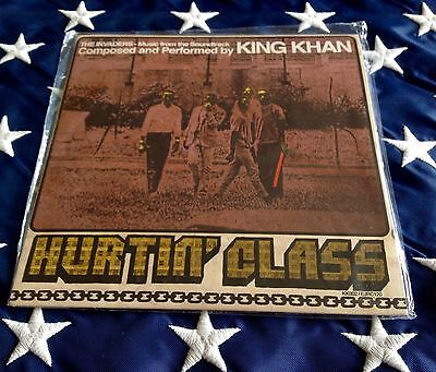 "KING KHAN HURTIN' CLASS sealed 7"" Music from THE INVADERS Soundtrack"