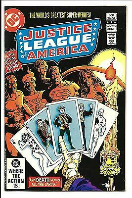 Justice League Of America # 203 (June 1982), Nm