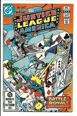 Justice League Of America # 204 (July 1982), Nm