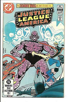 Justice League Of America # 206 (Sept 1982), Vfn