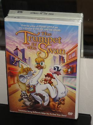 Trumpet of the Swan (DVD) Richard Rich, Terry Noss, Reese Witherspoon, NEW!