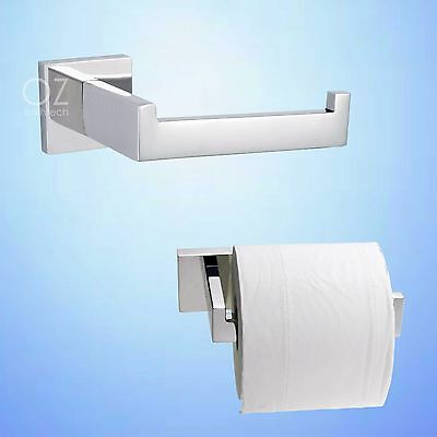 Bathroom Accessories Stainless Steel Toilet Tissue Paper Roll Holder Chrome