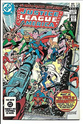 Justice League Of America # 218 (Sept 1983), Nm