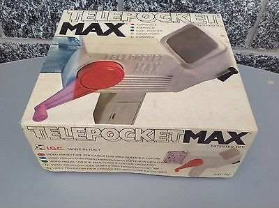 Telepocket Max#Projector 70S Super 8 Colour Nib Made In Italy