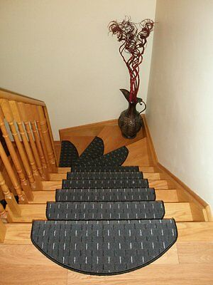 Set of 15 Carpet Stair Mats, Stair Treads Rugs Runners - ON SALE NOW!