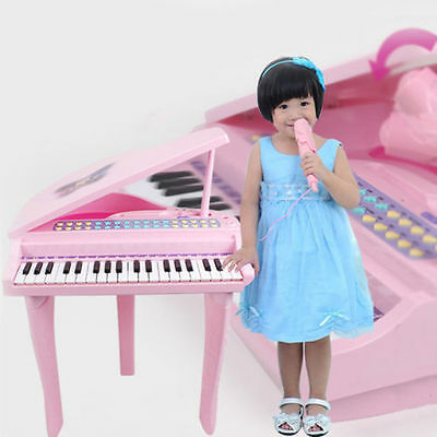 Piano Organ Mp3 Microphone Play Set Musical Instruments Educational Music Toy