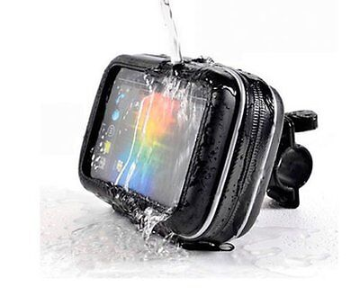 """Waterproof Bicycles/Motorcycle Case Mount Holder For 5"""" Garmin Nuvi TomTom GPS"""