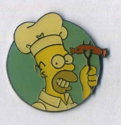 Pin's Simpson (Les) Homer - barbecue