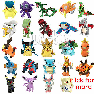 Pokemon XY Plush NEW Character Soft Toy Stuffed Animal Doll Teddy Figure Pikachu
