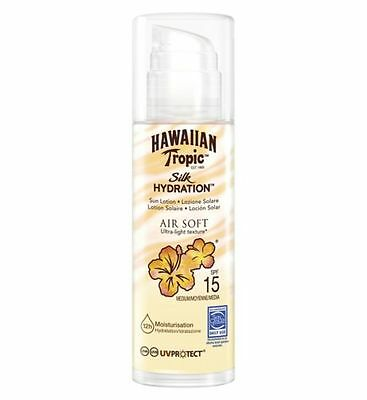 Hawaiian Tropic Silk Hydration Air Soft Lotion SPF 15 150ml