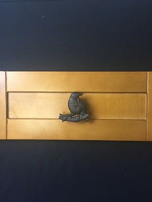 Oil Rubbed Bronze Bird Drawer Pull Knobs