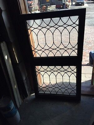 Sg 668 Two Available Priced Separate Antique Transom Windows Convex