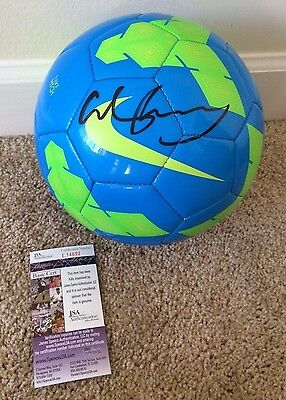 Wayne Rooney Signed Autograph Nike Soccer Ball 5 Manchester United England JSA