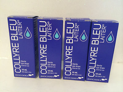 "Collyre Bleu Laiter Eye drop ""ORIGINAL"" 10ml, From Canada."