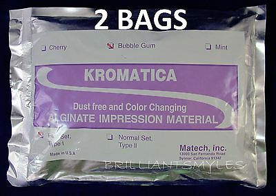 1 LB Alginate Molding Powder Color Changing KROMATICA Fast Set Dust-Free