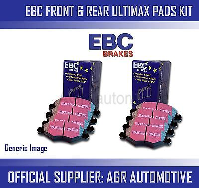 Ebc Front + Rear Pads Kit For Fiat Coupe 2.0 20V Turbo 1996-00