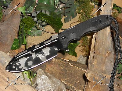 M-tech Extreme/Knife/Bowie/Blade/Full tang/Heavy duty/440C/Urban Camo/Zombie