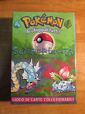 Italian COMPLETE Pokemon OVERGROWTH Card THEME DECK Supercrescita Mazzo Tematico